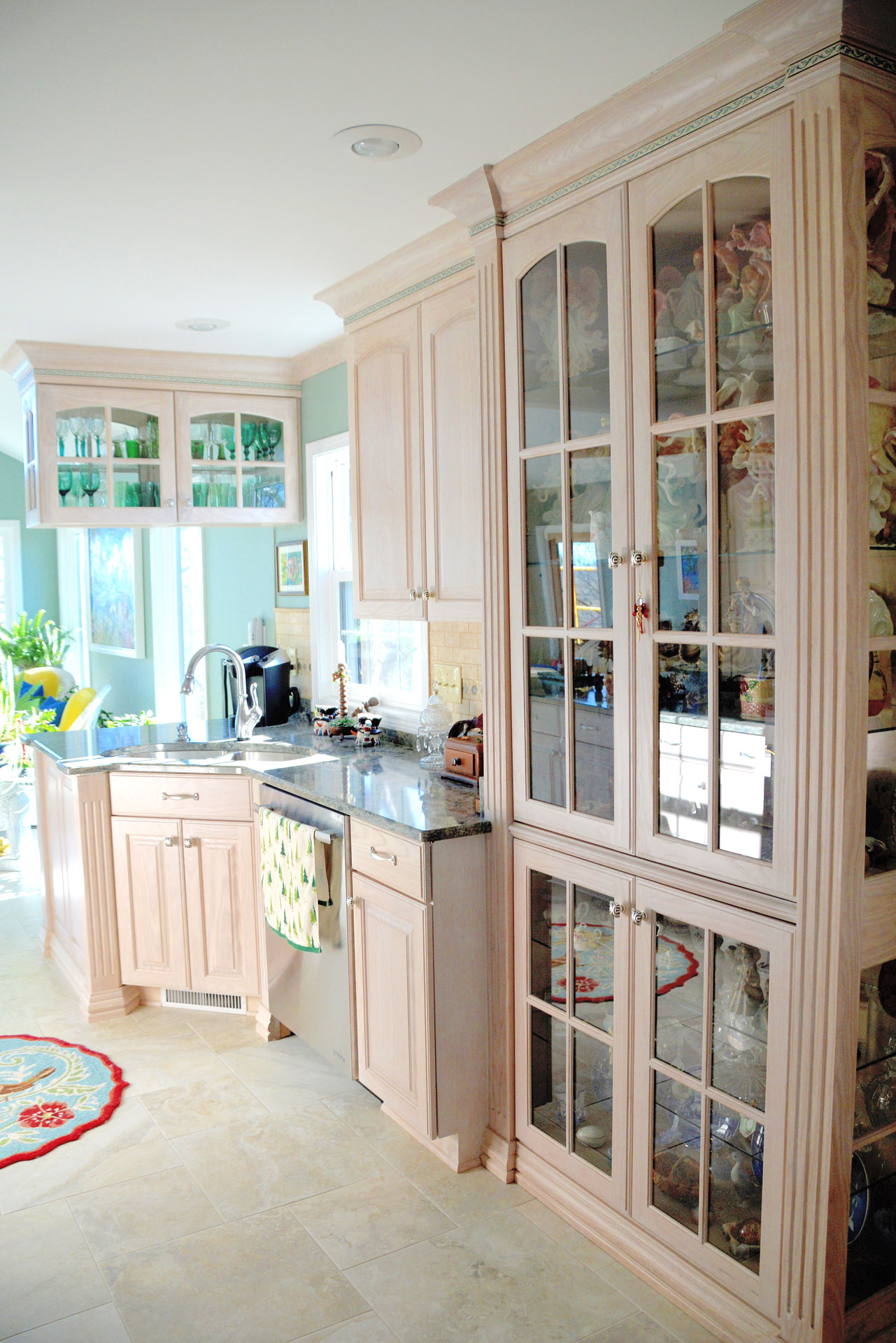Light Stain Kitchen Cabinets Horst Cabinet Works